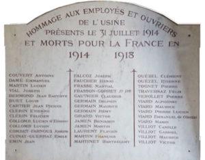 Hommage aux héros de la première guerre mondiale et à Emmanuel Bozon-Verduraz