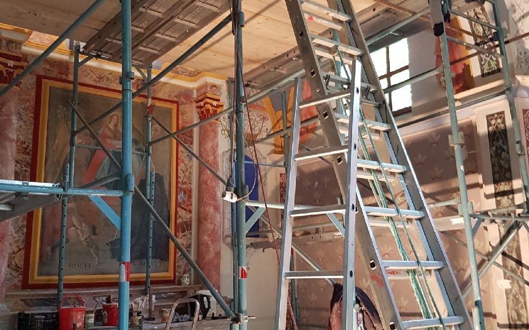 2018 : Réfection des peintures intérieures