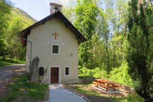 La chapelle du Mollaret se visite tous les vendredis de l'été