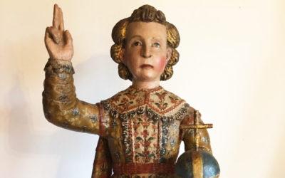 Une statue pour la chapelle